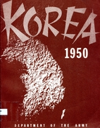 KOREA 1950 by Department Of Army
