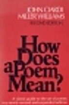 How Does a Poem Mean Second Edition by John…