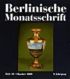 Berlinische Monatsschrift : 9. Jahrgang :…