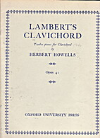 Lambert's clavichord, twelve pieces for…