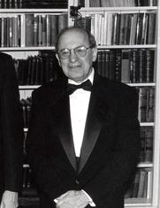 Author photo. Prof. George Kateb (photo courtesy of Princeton University)