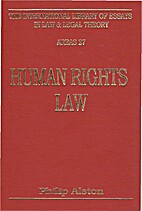 Human Rights Law (International Library of…