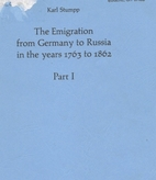 The emigration from Germany to Russia in the…