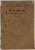 Thoughts on literature and art by Johann…
