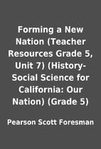 Forming a New Nation (Teacher Resources…