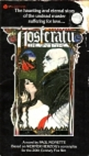 Nosferatu The Vampire by Paul Monette