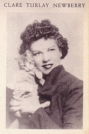 Author photo. source::http://www.cathappy.net/images/newberryphotos/Claresmall.jpg noattribution Originally uploaded by <a href=&quot;http://www.librarything.com/profile/casaloma&quot; rel=&quot;nofollow&quot; target=&quot;_top&quot;>casaloma</a>, but somehow migrated to the wrong author page.