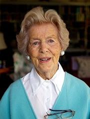 Author photo. Deborah Mitford Cavendish, Duchess of Devonshire