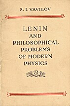 Lenin and philosophical problems of modern…
