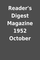Reader's Digest Magazine 1952 October