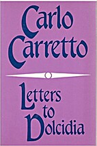 Letters to Dolcidia by Carlo Carretto