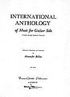 International Anthology of Music for Guitar…