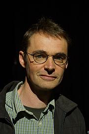 Author photo. Dylan Horrocks. (NZatFrankfurt)