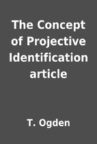 The Concept of Projective Identification…