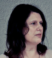 Author photo. Paula Morris. Photo by Simon Birkenfeld.