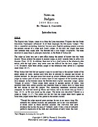Notes on Judges by Thomas L. Constable
