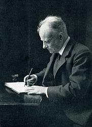 Author photo. Hugh Thomson in 1912 [source: Spielmann, M. H. Hugh Thomson, his art, his letters, his humour and his charm. London: A&C Black, Ltd. 1931]