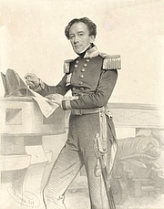 Author photo. Henry Mangles Denham, lithograph by Charles Baugniet, 1849. Wikimedia Commons.