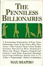The Penniless Billionaires by Max Shapiro
