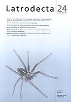Latrodecta 24 (Beobachtungen und Berichte…