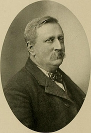 Author photo. Image from <b><i>Centennial history. Troy, Piqua and Miami county, Ohio</i></b> (1909) by Thomas Chalmers Harbaugh