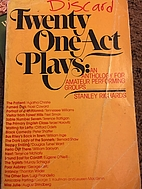 Twenty One-Act Plays: An Anthology for…