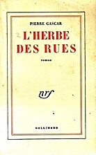 L'herbe des rues by…