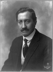 Author photo. c1913, Library of Congress