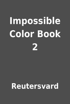 Impossible Color Book 2 by Reutersvard