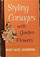 Styling corsages with garden flowers by Mary…