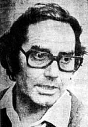 Author photo. Adolfo Pérez Esquivel