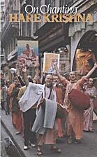On Chanting Hare Krishna