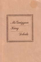 McGuiggan-King Debate by Jim McGuiggan