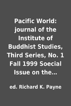 Pacific World: journal of the Institute of…