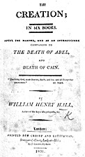 The Creation; in Six Books by William Henry…