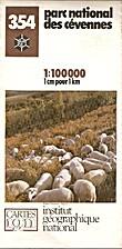 Parc national des Cévennes 1:100 000 (Parcs…