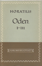 Oden I-III by Horace