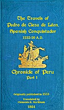 Chronicle of Peru 01. Travels of Pedro de…
