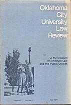 Oklahoma City University Law Review: Fall…