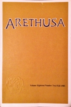 Arethusa (vol 18 no 2)