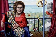 Author photo. Painting by Riva Lehrer, found at <a href=&quot;http://www.rivalehrer.com/circlestories/csframeset.html&quot; rel=&quot;nofollow&quot; target=&quot;_top&quot;>her website</a>.