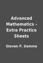 Advanced Mathematics - Extra Practice Sheets…