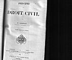 Principes de droit civil. Tome vingt et…