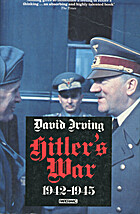 Hitler's War 1939-1942 by David Irving