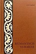 Rumantsch-Surmeir : Grammatica per igl idiom…