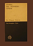Storia del pensiero cinese by Pio…