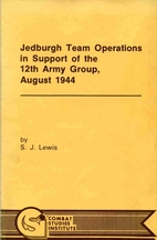 Jedburgh Team Operations in Support of the…