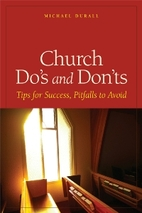 Church Do's and Don'ts by Michael…