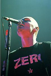 Author photo. Credit: Kris Sikes, 2005, Melancholy Tour