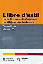 Llibre d'estil de la Corporació Catalana de…
